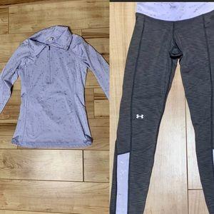 UA Legging/pullover matching set